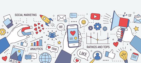 social media & SEM advertising